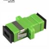 Adaptador de fibra monomodo SC/APC