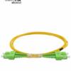 Patch Cord Fiber Duplex .09/125 SC/APC-SC/APC Duplex 2.5M/2,0mm