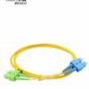 Patch Cord de fibra 09/125 SC / APC-SC / UPC Duplex 2.5M / 2,0mm